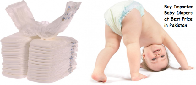 Buy Imported Baby Diapers at Best Price in Pakistan