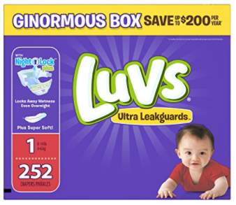Luvs Ultra Leakguards Newborn Diapers