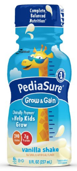 PediaSure Grow & Gain Nutrition Shake For Kids