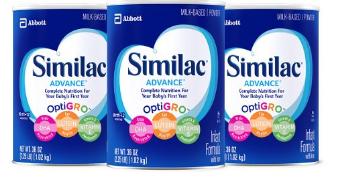 Similac Advance Infant Formula with Iron, Powder
