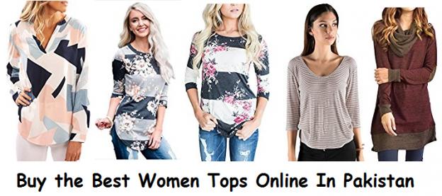 Buy the Best Women Tops Online In Pakistan