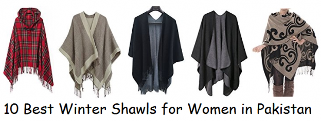 10 Best Winter Shawls for Women in Pakistan