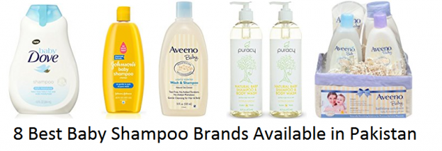 8 Best Baby Shampoo Brands Available in Pakistan