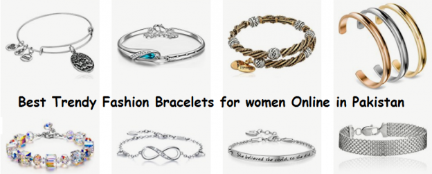 Best Trendy Fashion Bracelets for women Online in Pakistan