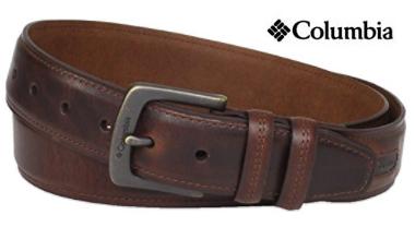 Columbia Men's Leather Belt