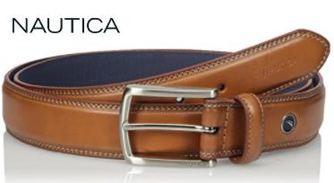Nautica Men's Leather Belt