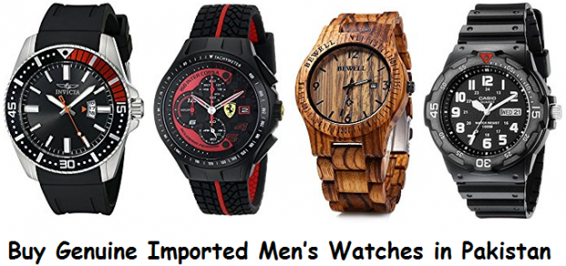 Buy Genuine Imported Men's Watches in Pakistan