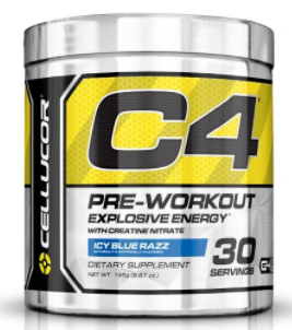 Cellucor, C4 Pre Workout (Original Formula) Supplements with Creatine, Nitric Oxide, Beta Alanine and Energy, G4v1