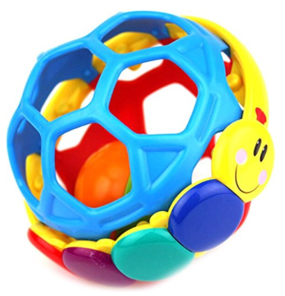 Raleighsee Baby Rattle Bendy Ball Baby Musical Toys Toy for Baby