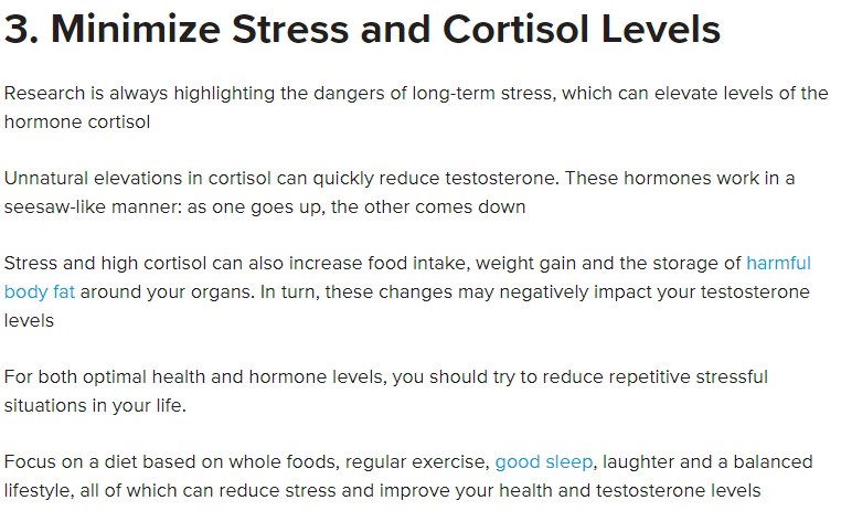 Minimize Stress