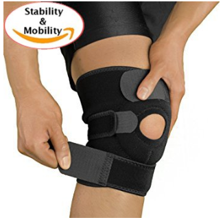 Knee Brace, Open Patella Stabilizer