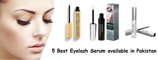 5 Best Eyelash Serums to grow lashes available in Pakistan