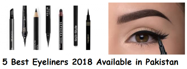 5 Best Eyeliners 2018 Available in Pakistan
