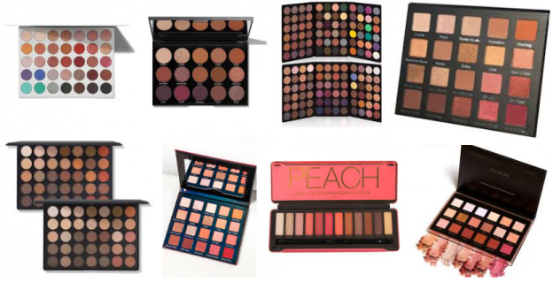 Best Eyeshadow Palettes of 2018 Available in Pakistan