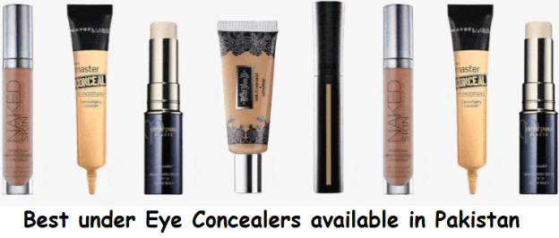Best under Eye Concealers available in Pakistan