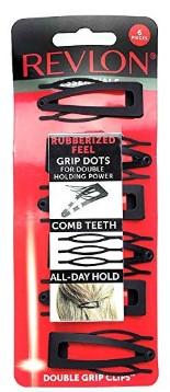 Revlon Essentials Double Grip Hair Clips