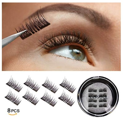 Vassoul Magnetic False Eyelashes