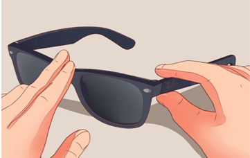 Low Quality Material of sunglasses