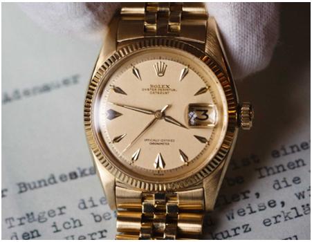 Rolex date magnification part
