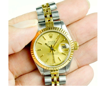 Rolex smooth second hand motion