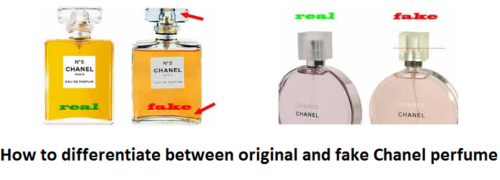 b0616a16f How to differentiate between original and fake Chanel perfume ...