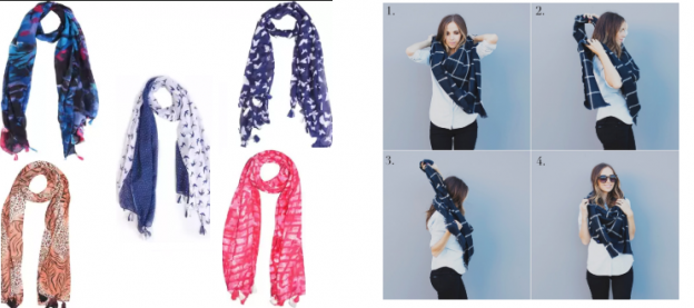 Wrap Up This Winter with Classy Shawls step by step