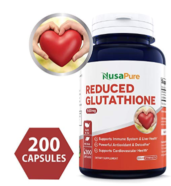 NusaPure Reduced Glutathione Supplement