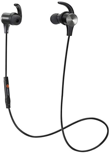 Bluetooth Headphones TaoTronics Wireless 4.2 Magnetic Earbuds Snug Fit