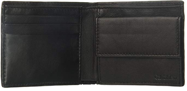 Calvin Klein Men's Logo Embossed Billfold