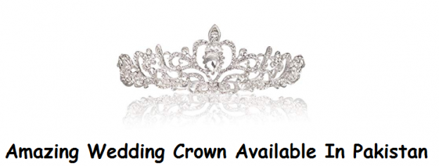 Amazing Wedding Crown Available In Pakistan