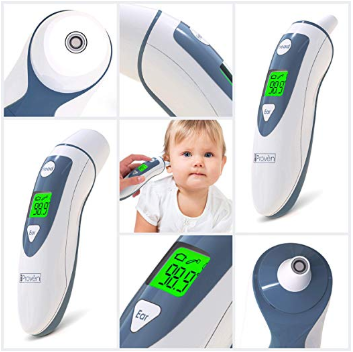 Ear Thermometer with Forehead Function