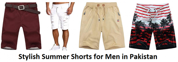 Stylish Summer Shorts for Men in Pakistan