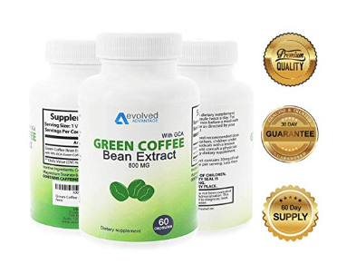 Evolved Advantage Green Coffee Bean Extract Supplement