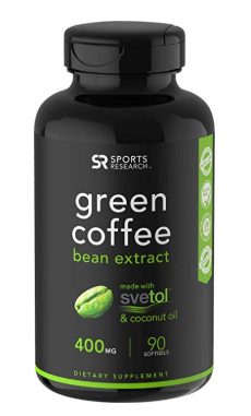 Green Coffee Bean Extract with Pure Svetol