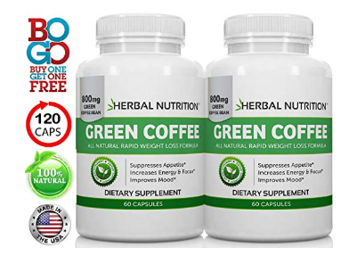 Herbal Nutrition Green Coffee Extract for Weight Loss
