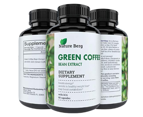 Natural Raw Green Coffee Bean Extract