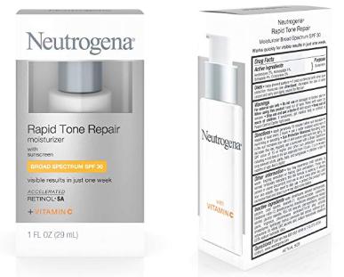 Neutrogena Rapid Tone Repair Face Moisturizer