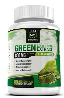 NutraChamps Green Coffee Bean Extract Supplement