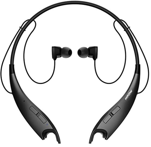 Mpow Jaws V4.1 Bluetooth Headphones Wireless Neckband Headset