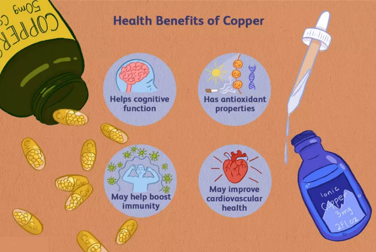 Copper Supplement Health Benefits, Uses, Side Effects