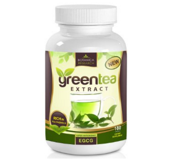 Botanica Research Green Tea Extract Fat Burner Supplement