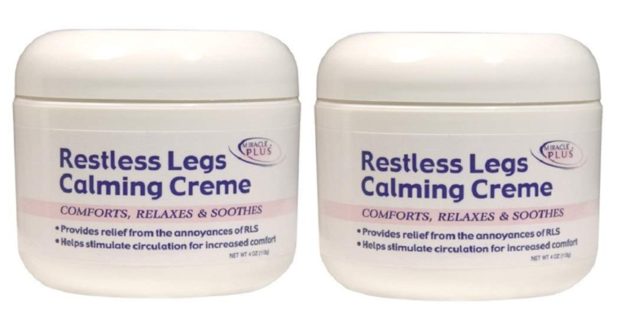 Restless Legs Calming Creme to Help Irritability and Itching - (Two - 4oz)