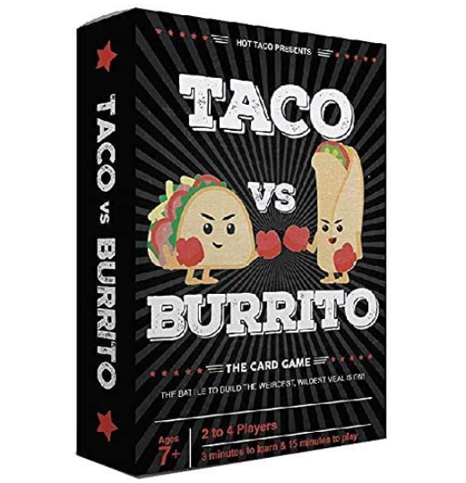 Taco vs Burrito The Wildly Surprisingly Strategic Card Game