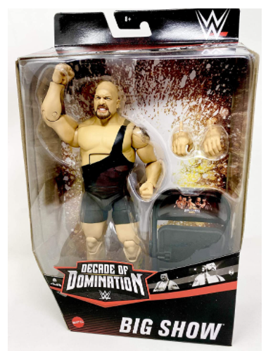 WWE Elite Collection Big Show Decade of Domination Action Figure