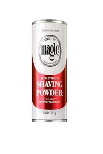Magic Shaving Powder rojo 5 onzas extra fuerte (4.9 fl oz) (3 unidades)