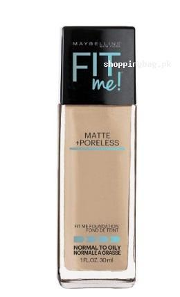 Maybelline New York Fit Me Matte Plus Poreless Foundation - Light Beige