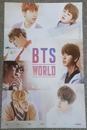 K-POP BTS WORLD OST Album OFFICIAL POSTER