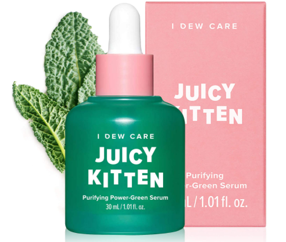 Korean Juicy Kitten Green Face Serum with Niacinamide For Mom and Women - 30ml