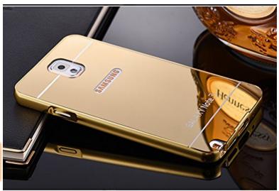 pretty nice 4f0ce 81bd1 Samsung Galaxy Note 3 Golden Ultra-thin Luxury Metal Case