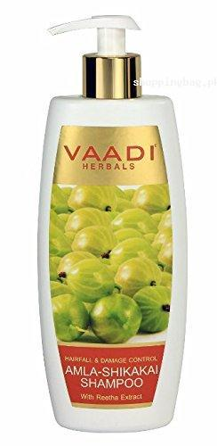 Vaadi Amla with Shikakai and Reetha Herbal Shampoo for Hair Fall & Damage Control